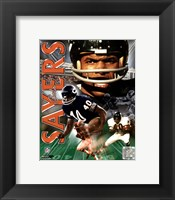 Framed Gale Sayers -LEGENDS COMP.
