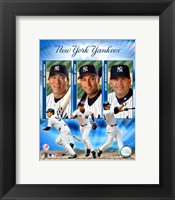 "Framed 2004 Yankees ""Big3""- HITTERS"
