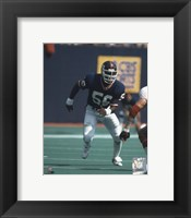 Framed Lawrence Taylor - Game Action