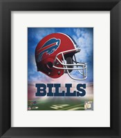 Framed Bills Helmet Logo ('04)