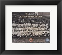 Framed 1916 World Series Champion Red SoxTeam