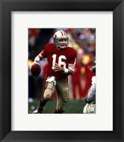 Framed Joe Montana - #22