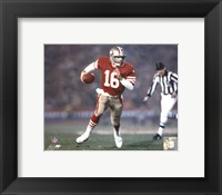 Framed Joe Montana - #21