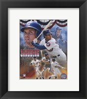 Framed Ryne Sandberg - Legends Composite