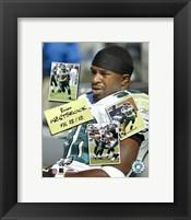 Framed Brian Westbrook - Scrapbook '04