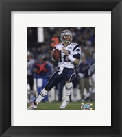Framed Tom Brady - Super Bowl XXXIX - passing in first quarter