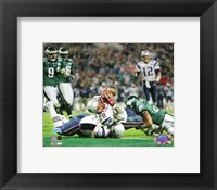 Framed Corey Dillon - Super Bowl XXXIX - 4th quarter 2-yard touchdown run