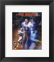 Framed Dan Marino - '05 HOF COMPOSITE