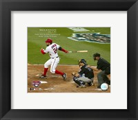 Framed 4/14/05 - Nick Johnson / 1st Hit At RFK Stadium In More Than 33 Years