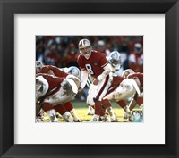 Framed Steve Young - Calling Play