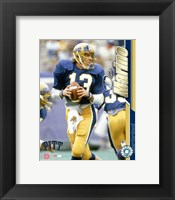 Framed Dan Marino / University of Pittsburgh #2