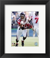 Framed Warrick Dunn - '05 / '06 Action