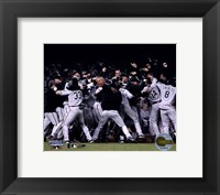 Framed 2005 World Series White Sox Victory Celebration