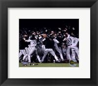 Framed 2005 World Series White Sox Victory Celebration