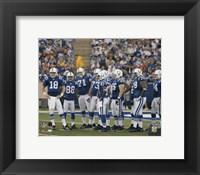 Framed 2005 - Colts Huddle