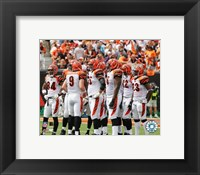 Framed 2005 - Bengals Huddle