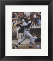 Framed Willie McCovey - Batting Action