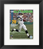 Framed Shaun Alexander - 28th Touchdown Of The Season 1/1/06 NFL Record
