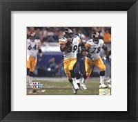 Framed Super Bowl XL - Willie Parker / Action #6