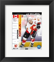 Framed '05 / '06 Jarome Iginla - Ice Breakers Composite