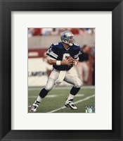 Framed Troy Aikman - Action