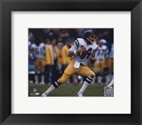 Framed Dan Fouts - Action
