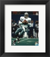 Framed Troy Aikman - Dallas Cowboys
