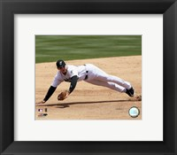 Framed Miguel Cabrera - 2006 Fielding Action