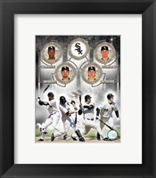 Framed White Sox - 2006 Big 4 Hitters