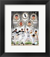 Framed White Sox - 2006 Big 4 Pitchers