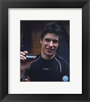 Framed Sidney Crosby - 100th Point