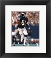 Framed Lawrence Taylor - Action