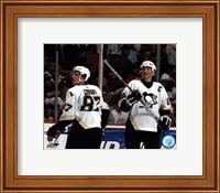 Framed Sidney Crosby / Mario Lemieux - '05 / '06 Group Shot