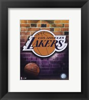 Framed Lakers - 2006 Logo