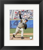 Framed Trevor Hoffman -  2006 Pitching Action