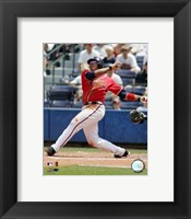 Framed Andruw Jones - 2006 Batting Action