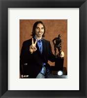 Framed Steve Nash - 2006  NBA M.V.P. / With Trophy