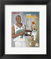 Framed Chris Paul - 2006 Rookie Of The Year