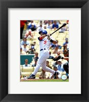 Framed Nomar Garciaparra - 2006 Batting Action
