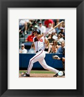 Framed Jeff Francoeur - 2006 Batting Action