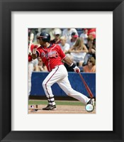 Framed Edgar Renteria - 2006 Batting Action