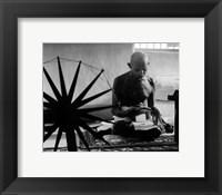 Framed Mohandas K. Gandhi (#15)