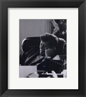 Framed President John F. Kennedy in the Oval Office (#7)