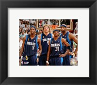 Framed Mavericks Group - 2006 Finals / Game 4 (#26)