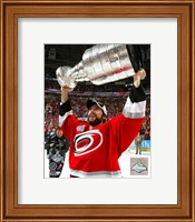 Framed Matt Cullen - 2006 With The Stanley Cup / Game 7 (#47)