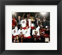Framed 2006 - Heat NBA Champions Team Celebration (#35)