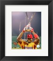 Framed Ryan Howard - 2006 Home Run Derby / With Trophy