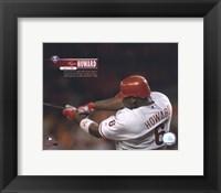 Framed Ryan Howard - 2006 49th Home Run with Overlay