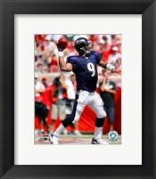 Framed Steve McNair - '06 / '07 Passing Action