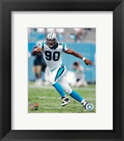 Framed Julius Peppers - '06 / '07 Action